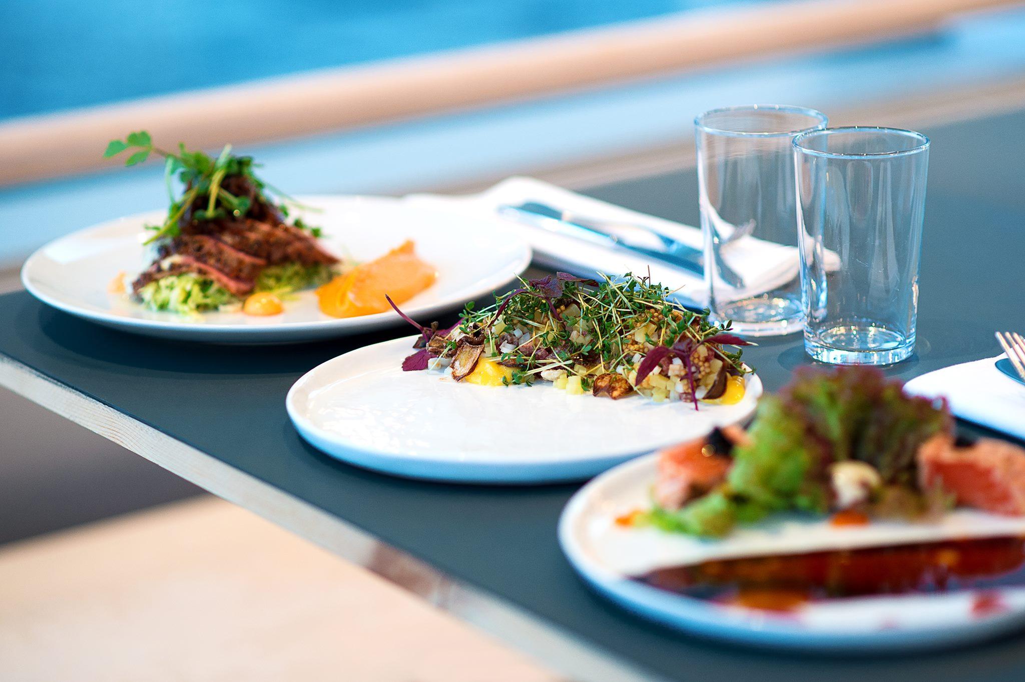 Väletablerad restaurang i Hammarby Sjöstad