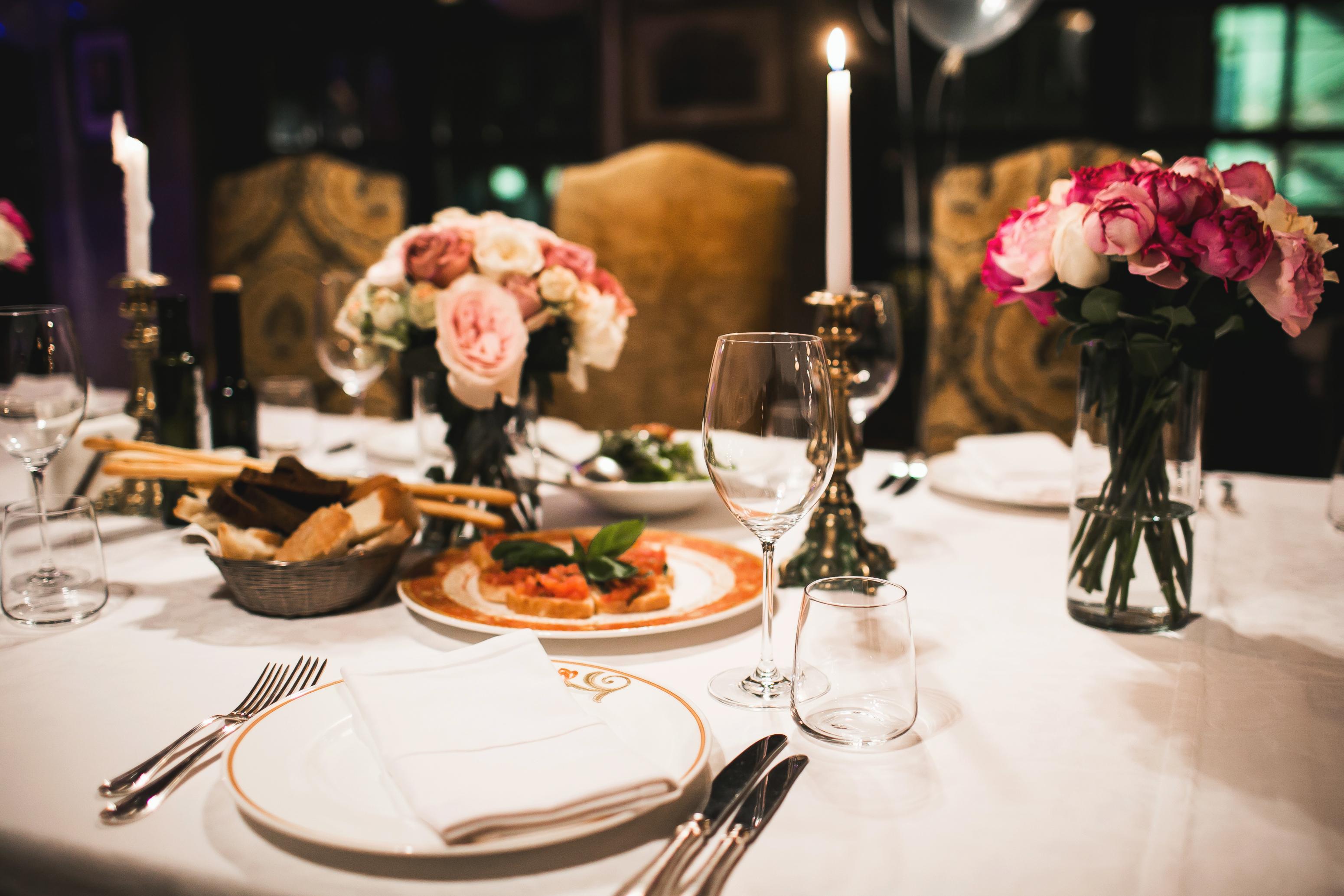 Restaurang festvåning i Uppland