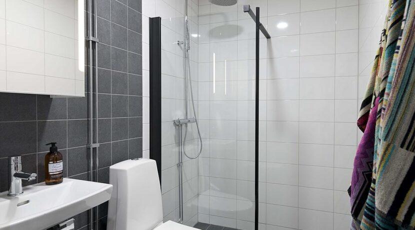 Bad duschvägg