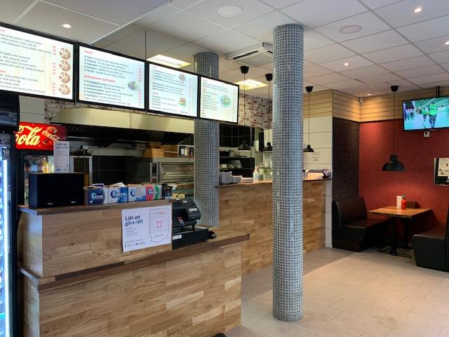 Pizza & Kebab Grillkiosk i Uppsala